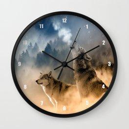 Moonrise Howl Wall Clock