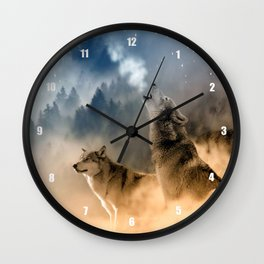Moonrise Howl Wall Clock