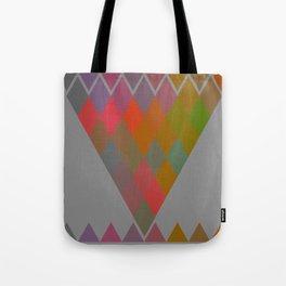 """Colorful Rhombus pattern"" Tote Bag"
