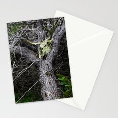 Forest Spirit Skull Stationery Cards