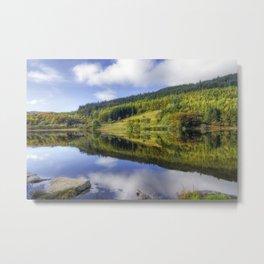 Lake Geirionydd Metal Print