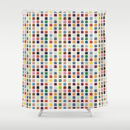 Ghosts Spots Shower Curtain