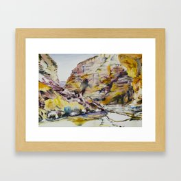 Mountains 2 Framed Art Print