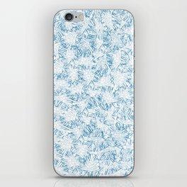 Blue Xray leaves iPhone Skin