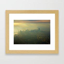 Chicago From Above Framed Art Print