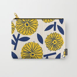 Floral_blossom Carry-All Pouch