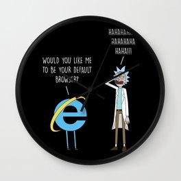 Default browser Wall Clock
