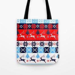 Scandinavian holidays pattern design Tote Bag