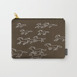 Horses Running Carry-All Pouch