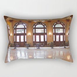 Main Street Station Rectangular Pillow
