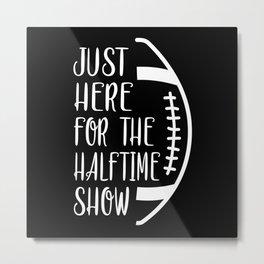 Football Sports Game Team American Funny Gift Idea Metal Print