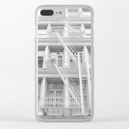Soho Escape Clear iPhone Case