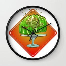 Jello Brainz Wall Clock