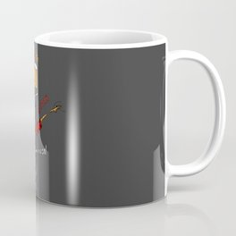 Abstract Funny Musical Instruments  Coffee Mug