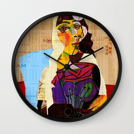 Picasso Women 6 Wall Clock