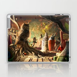 King Owl Laptop & iPad Skin