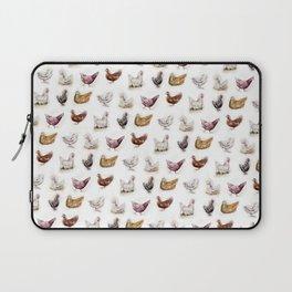 Vintage Chickens Laptop Sleeve