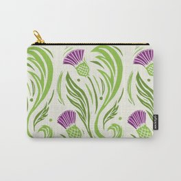 Thistles - Color Pattern Carry-All Pouch