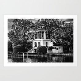 Temple Island near Remenham  Art Print
