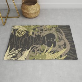 Books Collection: Heart of Darkness Rug