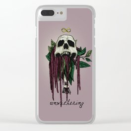 Amaranth Clear iPhone Case
