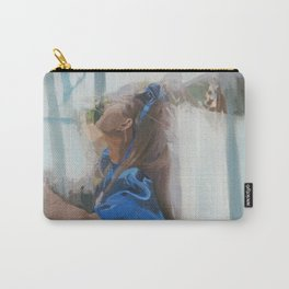 Looking for the White Rabbit Carry-All Pouch