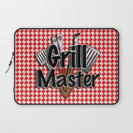 Grill Master with BBQ Tools Laptop Sleeve