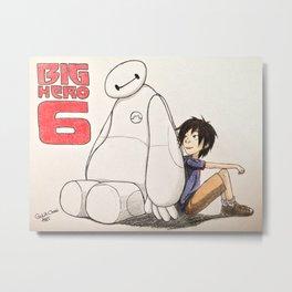 Big hiro 6 Metal Print