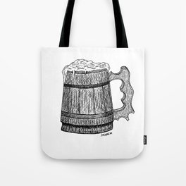 beer mug Tote Bag