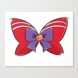 Sailor Mars Bow Canvas Print