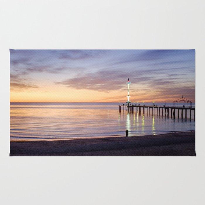 Brighton Beach Sunset Rug