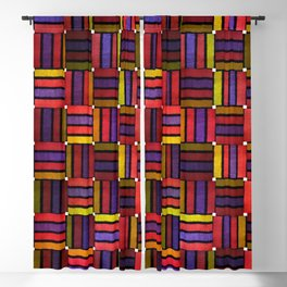 colourfull pattern Blackout Curtain