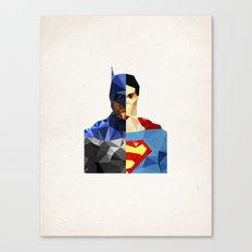 Polygon Heroes - VS Canvas Print