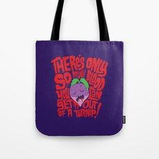 Bloody Turnips Tote Bag