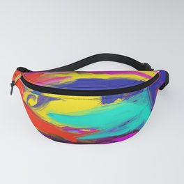 Rainbow Abstract II Fanny Pack