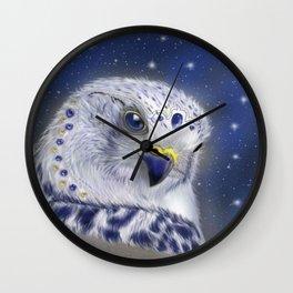 The mystical Gyrfalcon Wall Clock
