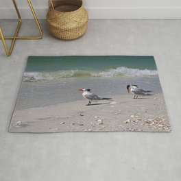 Waiting for Waves Rug