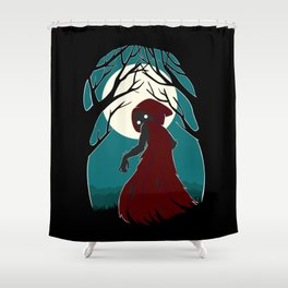 Red Riding Hood 2 Shower Curtain