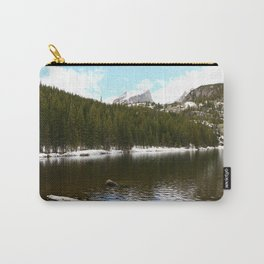 Snow At Bear Lake - Rocky Mountains NP Carry-All Pouch
