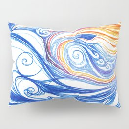 Winter Storm Pillow Sham