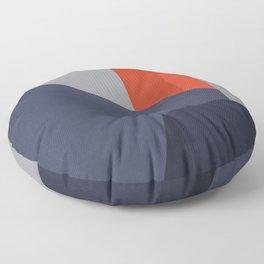 Minimal Urban Landscape Floor Pillow