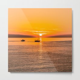 Finish of the day Metal Print