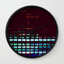Shutter Wall Clock