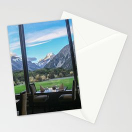 Dinner by the Mountains Stationery Cards