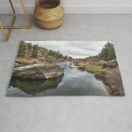 Deschutes River at Eagle Crest Rug