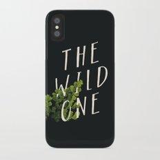 The Wild One Slim Case iPhone X