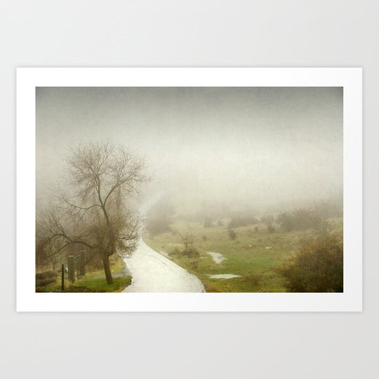 The lost road Art Print
