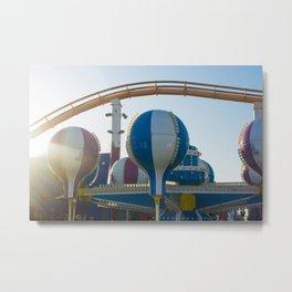 Balloon Santa Monica Pier Pacific Park Metal Print