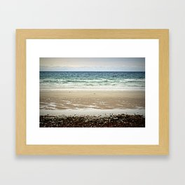 Winter Water Layers - Cape Cod Framed Art Print