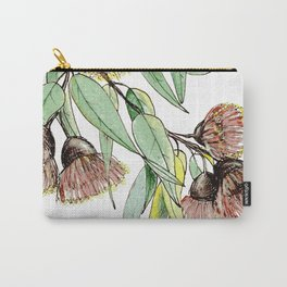 Flowering Red Gum Carry-All Pouch